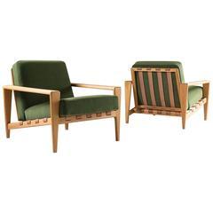 "Scandinavian Mid-Century Lounge Chairs ""Bodö"" by Svante Skogh"