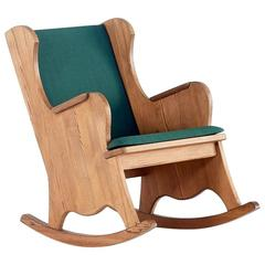 Axel Einar Hjorth 'Lovö' Rocking Chair for Nordiska Kompaniet, 1932