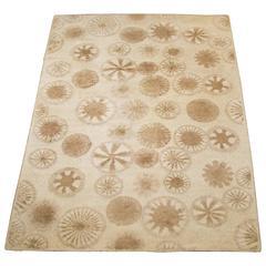 Rare and Decorative Cogolin Wool Carpet, France, 1970