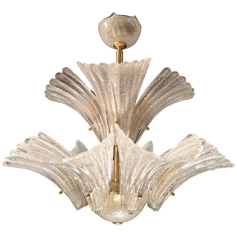 Murano Chandelier in style Barovier & Toso, 1950s 1