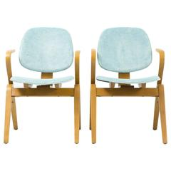 Set of Mid-Century Moderne Thonet Chairs by Joe Atkinson
