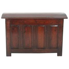 French Antique Dome-Top Chest Circa 1860