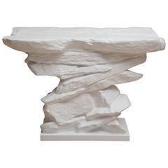 Sirmos Plaster Quarry Console