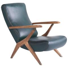 """Piuma"" Lounge Chair by Carlo Mollino, circa 1960"