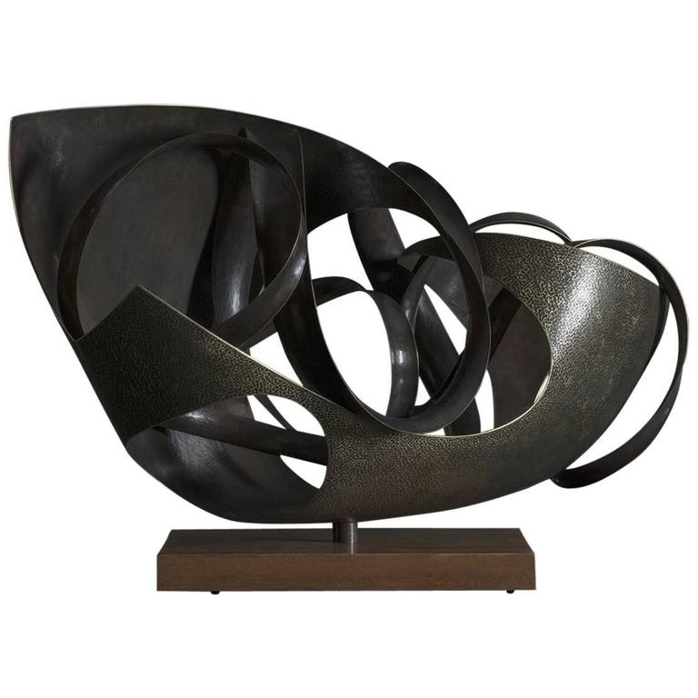 """Resolute"" Sculpture by Elie Hirsch For Sale"