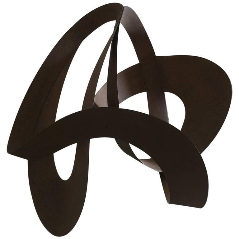 """Ellipses"" Suspended Sculpture by Elie Hirsch"