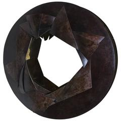 """Eclats"" Sculptural Mirror by Elie Hirsch"