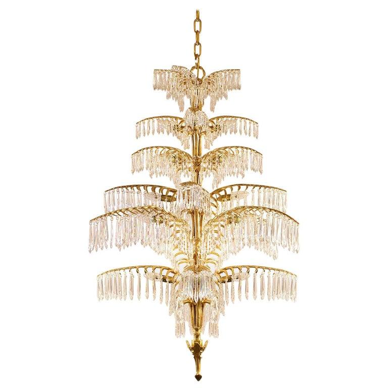 """Josef Hoffmann Ceiling Lamp """"Palme-Dubai"""" Jugendstil Re-Edition bespoke For Sale"""