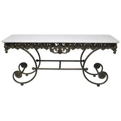 Stunning Drexel Heritage Belle Maison Console Table
