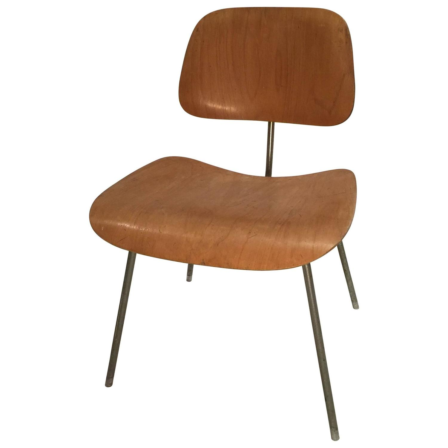 1950s herman miller eames dcm dining chair