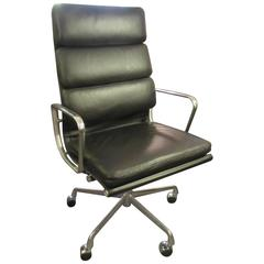 charles eames for herman miller executive soft pad chair antique leather office chair