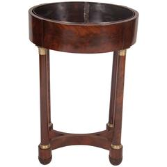 Early 19th Century French Empire Mahogany Jardiniere