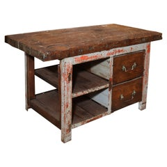 Rustic Work Table