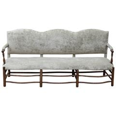 Camelback French Settee