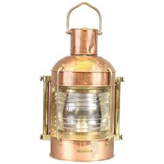 Solid Copper Masthead Light