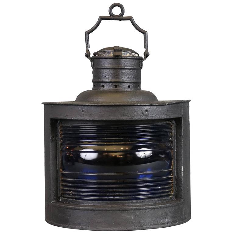 Iron Starboard Ship's Lantern