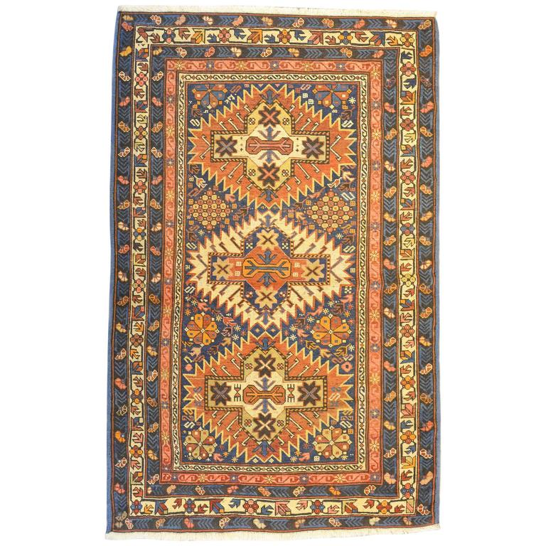 Fantastic 19th Century Shrivan Rug For Sale At 1stdibs