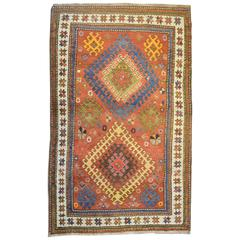 Unbelievable Early 20th Century Kazak Rug