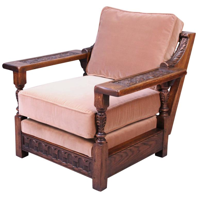 Spanish Revival 1920s Club Chair at 1stdibs