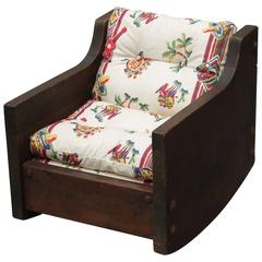 Monterey Period Early 1930s Child's Rocking Chair