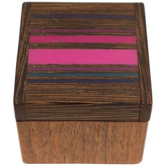 Robert McKeown Stamp Box with Stripes