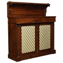 Regency Rosewood Two-Door Chiffonier