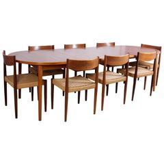 Mid-Century Dining Suite in Teak