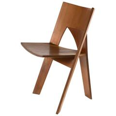One of Four Prototype Dining Chairs by Nanna Ditzel in Oregon Pine