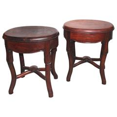 Pair of Chinese Stools