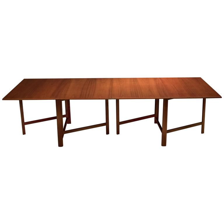 Teak Expandable Bruno Mathsson Maria Dining Table at 1stdibs : 6303553l from www.1stdibs.com size 768 x 768 jpeg 18kB