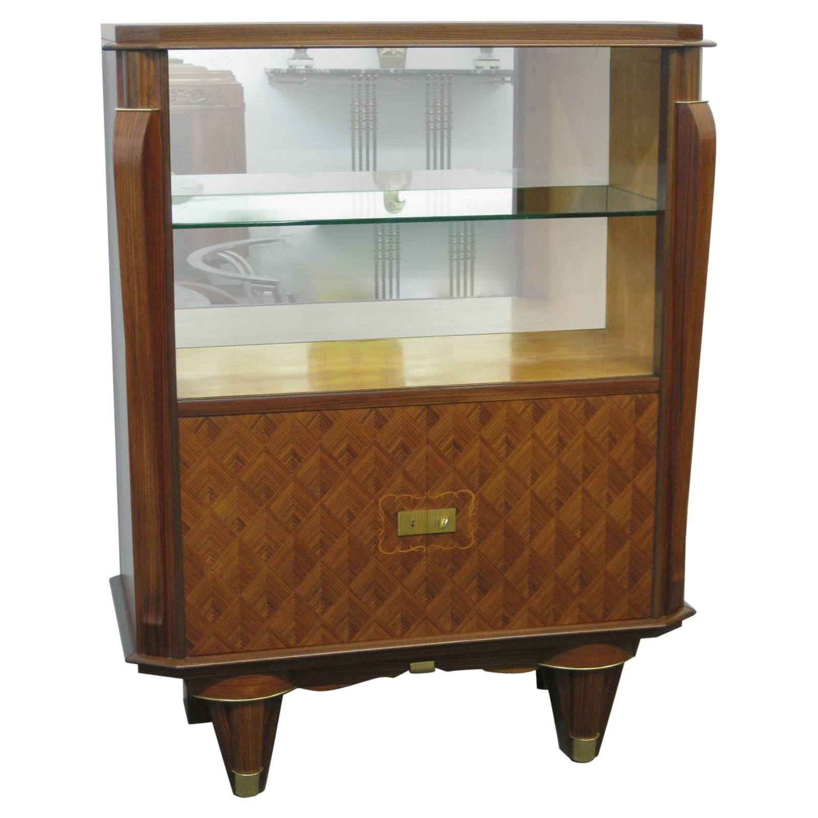 French Art Deco Showcase, Display Cabinet, Vitrine