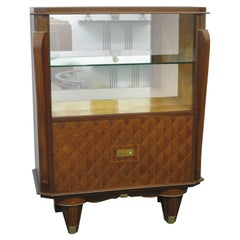 French Art Deco Showcase, Display Cabinet, Vitrine