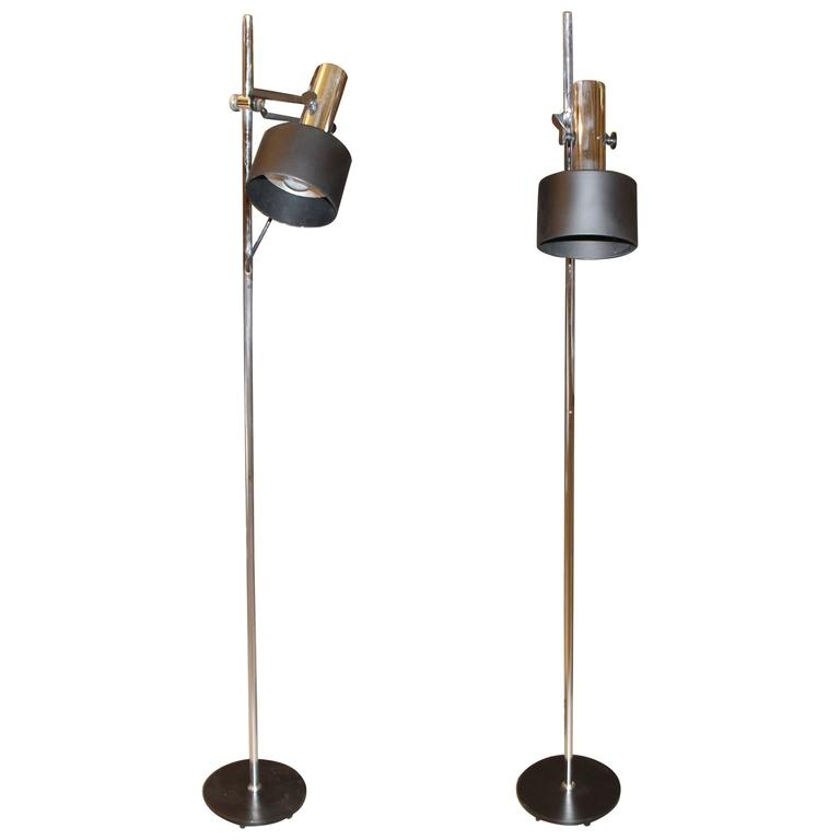 Beau Lightolier Vintage Floor Lamps
