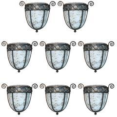 Sconces in the Manner of William Haines, Set of Eight