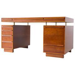 edward wormley for dunbar floating top partners desk amazing vintage desks