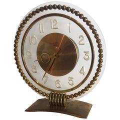 Art Deco French Clock by Bayard