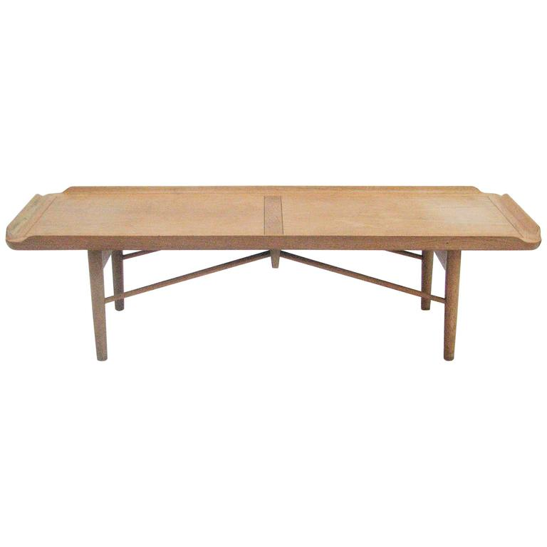 Rare Finn Juhl Cocktail Table Or Bench For Baker Furniture Company 1