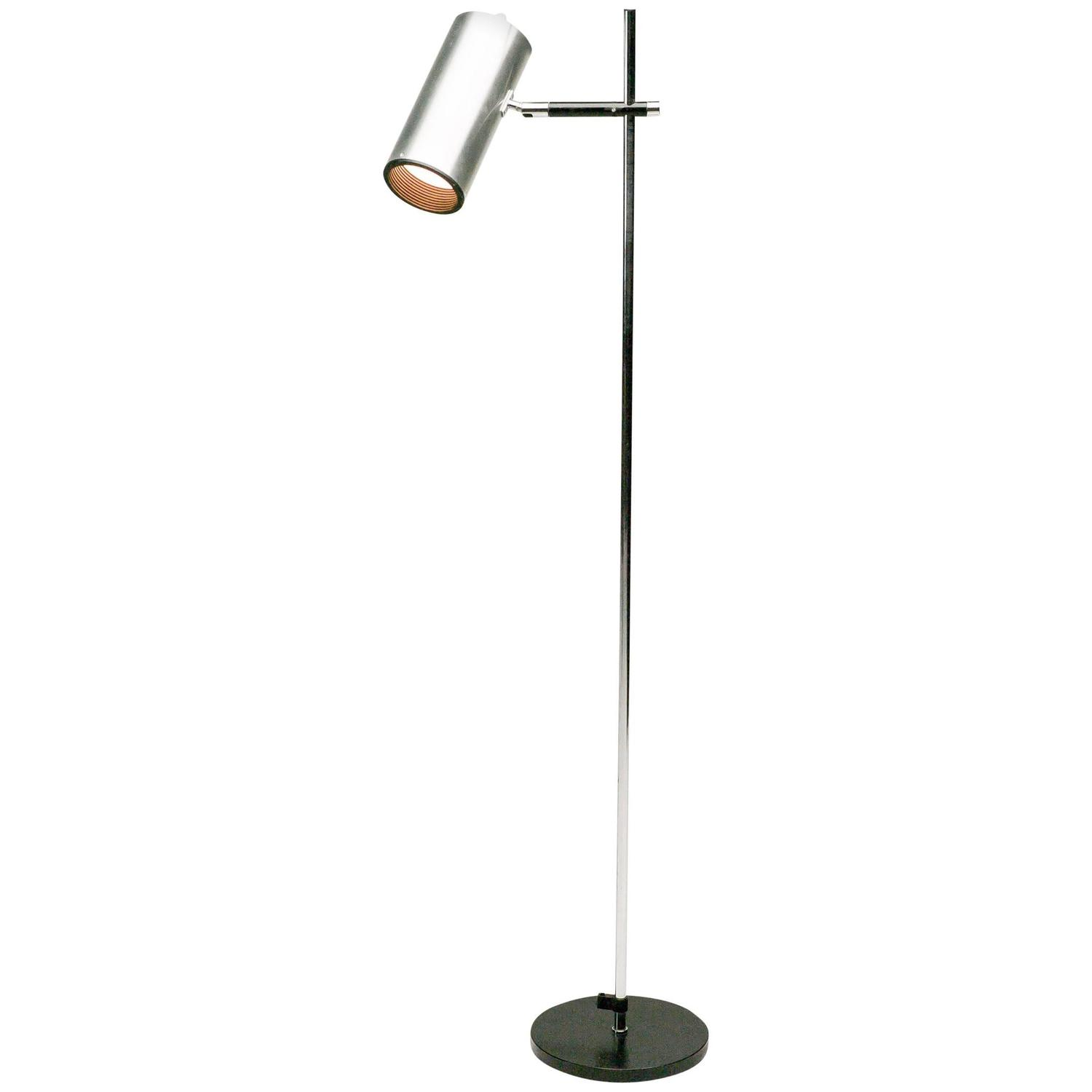 Maria Per Stainless Steel Floor Lamp For Sale at 1stdibs