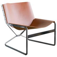 Rare Pierre Paulin for A. Polak Originals Lounge Chair