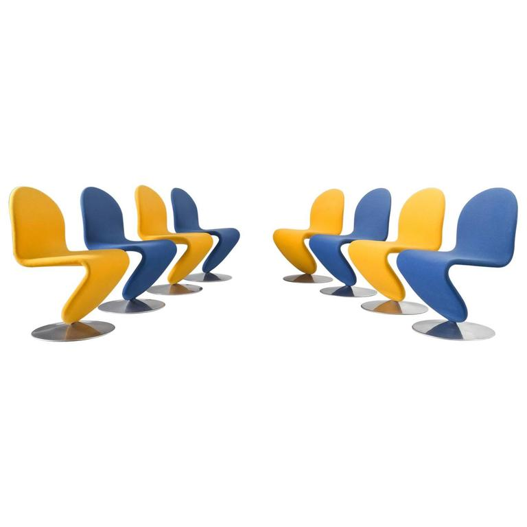 1-2-3 chairs for Fritz Hansen, 1970s, offered by Morentz