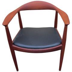 "Hans Wegner ""The Chair"" in Mahogany"