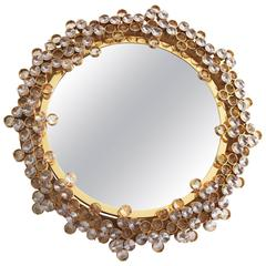 Palwa Gilded Crystal Backlit Mirror