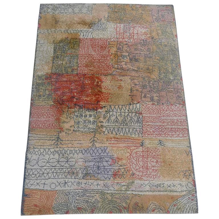 """Paul Klee """"Florentinisches Villenviertel"""" Art Rug By Ege"""