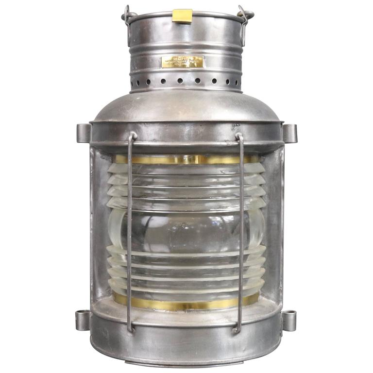 Ship S Masthead Lantern By National Marine Lamp Co For