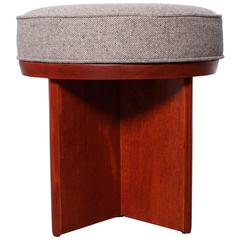 Rotating Stool by Frank Lloyd Wright for Henredon