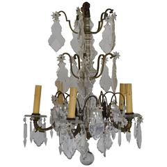 French Pendalogue Chandelier