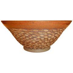 Important California Studio Ceramist F. Carlton Ball, Flared Bowl