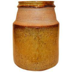 Nils Kahler Denmark Ceramic Vase, circa 1960s
