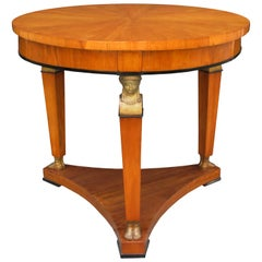 Fine Biedermeier Center Table