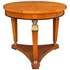 Fine Biedermeier Center Table